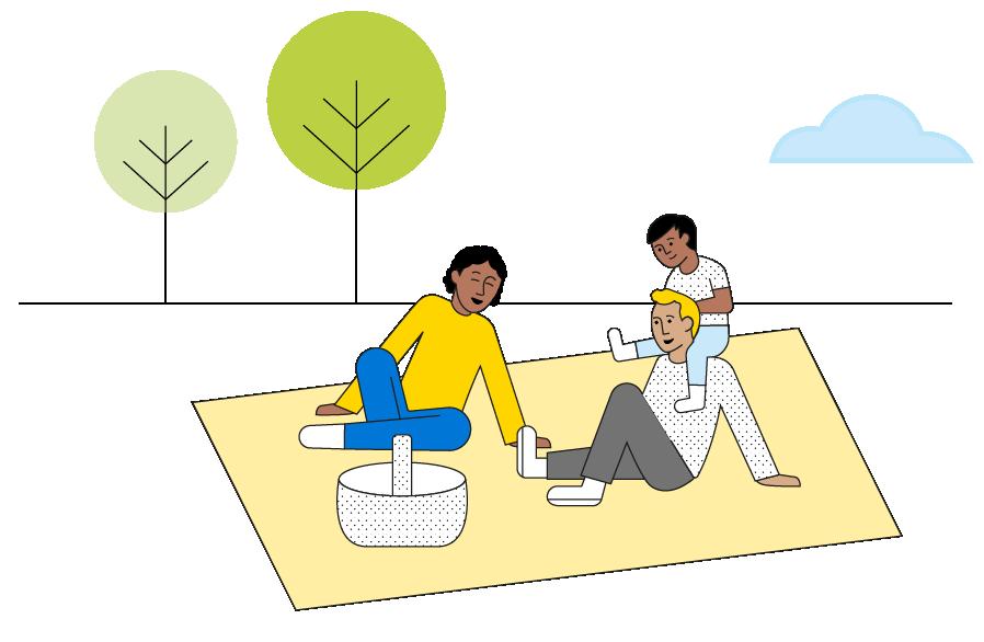 family-having-picnic